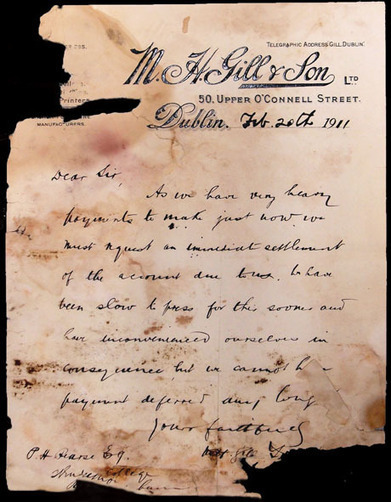 Fluffy Stuff: Mould and the Pearse Papers Conservation Project | Emergency Preparedness for Museums and Libraries | Scoop.it