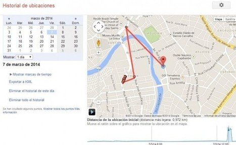 Una url que todo usuario de android debe visitar: Historial de ubicaciones | Google: baliabideak | Scoop.it