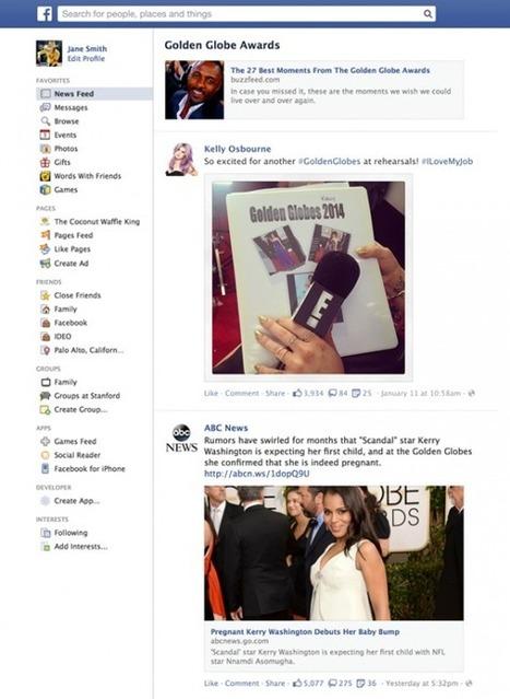 Facebook Lance les « Trending Topics » personnalisés en temps réel | Webmarketing & C° | Scoop.it