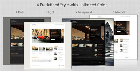 Cleanex - Minimalist Business WordPress Theme (Business)   Premium Wordpress Themes   Scoop.it