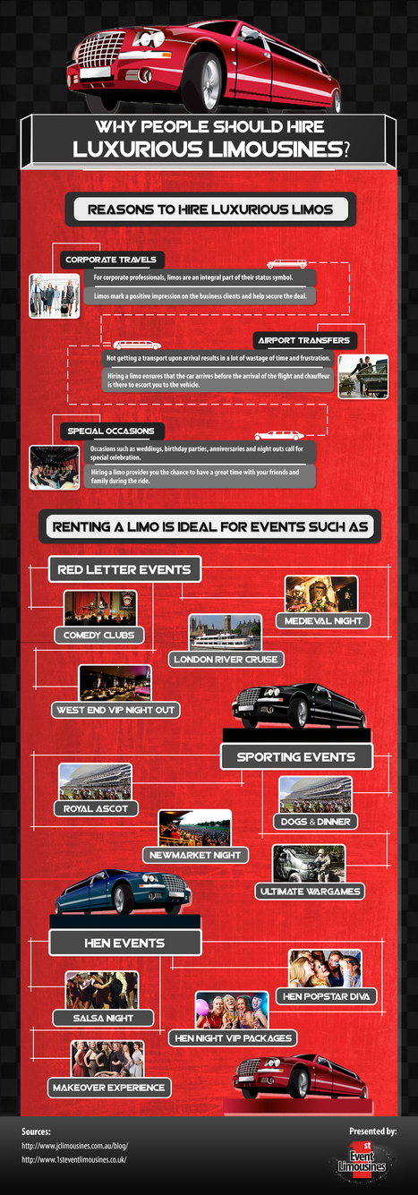 Why People should hire luxurious Limoousines – Infographic | Photo Studio | Scoop.it