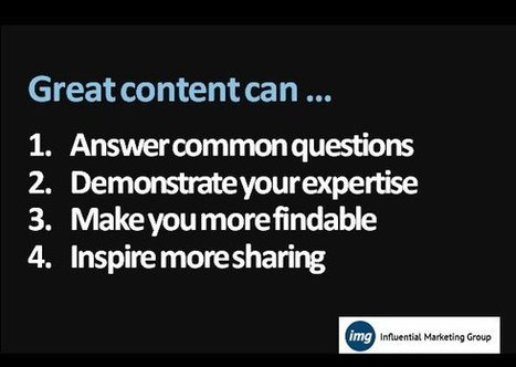 Even GREAT Content Creators Should Curate More | BI Revolution | Scoop.it