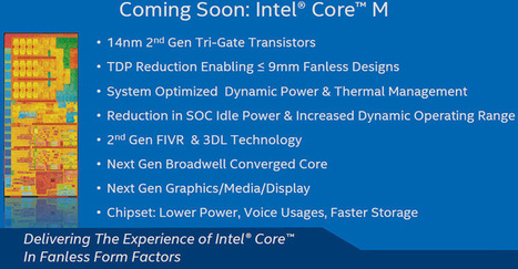 Intel Just Put Mobile Processor Competitors On Notice, Broadwell Is No Joke | Software Engineering | Scoop.it