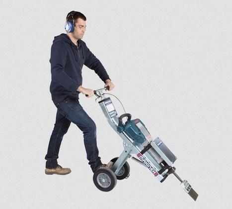 Jackhammer Trolley | Floor Tile Removal | Makinex USA | Jackhammer Trolley | Scoop.it