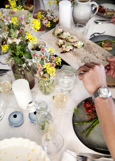 Happy Interior Blog: Gathering: A Stylist Dinner In Copenhagen | Design | Scoop.it