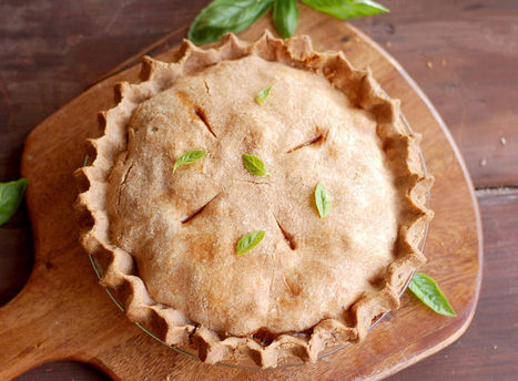 Roasted Vegetable Pie with Double Spelt Crust   Wai Lana's Kitchen   Scoop.it