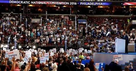 """#Bernie #Sanders Delegates Are Chanting """"Lock Her Up"""" on #DNC Floor #DemsinPhilly 