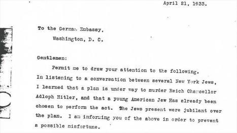 ¡REVELACIÓN!: El FBI impidió el asesinato de Hitler en 1933 -  - HispanTV.com | Política para Dummies | Scoop.it