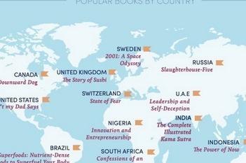 #Infographie #lecture en streaming dans le monde : Dis-moi où tu vis, je te dirai ce que tu lis et combien tu lis. | Actualité littéraire et culturelle | Scoop.it