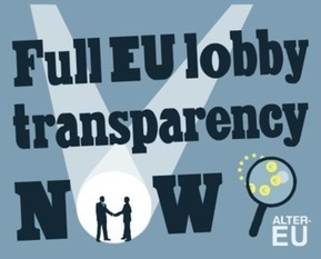 New petition to fix the EU lobby register | Open Knowledge Foundation Blog | Open Government Daily | Scoop.it