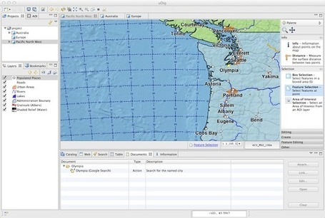 User-friendly Desktop Internet GIS: uDig 1.4.0 Released | Everything is related to everything else | Scoop.it