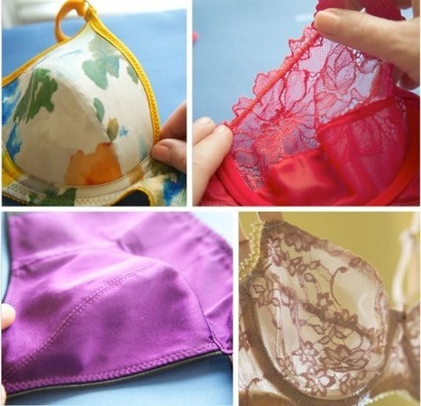 Bra-making Sew Along: Sewing the Cups | Cloth Habit | bra making | Scoop.it