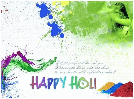 Happy Holi SMS Quotes, Wishes msg in English Hindi 140 words | | Festival Holidays | Scoop.it