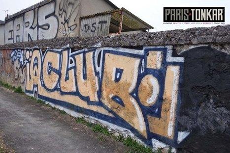 Blois Graffiti | Paris Tonkar magazine | Scoop.it
