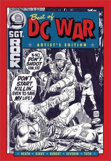 "BEST OF DC WAR COMICS ARTISTS EDITION LARGE HARDCOVER JACK KIRBY KUBERT TOTH | Jack ""King"" Kirby 