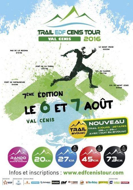 Calcul Trail EDF Cenis-Tour 2016 - 45 km - Passion Trail   Passion Trail   Scoop.it