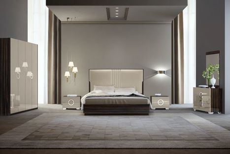 6 Modern Bedroom Decorating Ideas | Home and Office Furniture | Scoop.it