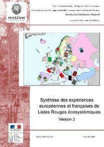 Parution d'une synthèse sur les Listes Rouges écosystémiques en Europe   ECOLOGIE BIODIVERSITE PAYSAGE   Scoop.it