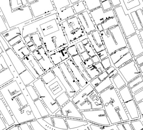 John Snow's data journalism: the cholera map that changed the world - The Guardian (blog) | Journalism Ed | Scoop.it