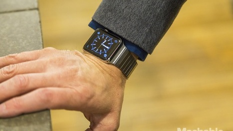Apple admits wrist tattoos can cause problems with the Apple Watch | Mobile Technology | Scoop.it