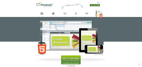 15 Impressive Tools for Creating Beautiful Presentations | formation 2.0 | Scoop.it