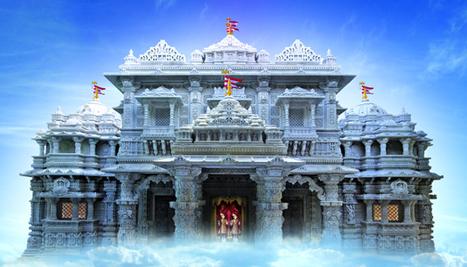 India Art n Design inditerrain: Shri Swami Narayan Mandir in Robbinsville, NJ | World Spirituality and Religion | Scoop.it
