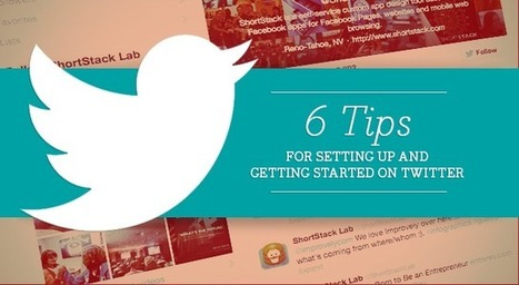 Small Biz Social Friday: 6 Tips for Setting Up and Getting Started on Twitter - SociallyStacked - Everything Social for Small Businesses and Agencies | Communications and Social Media | Scoop.it