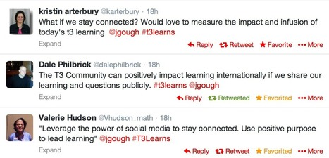 Developing a Virtual Learning Community – #T3Learns session ... | Virtual communities | Scoop.it