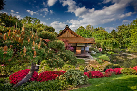 Amazing Japanese style garden in Philadelphia - Most Beautiful Gardens | Turf Maintenance | Scoop.it