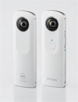 Ricoh preps Android app for Theta spherical pano camera - imaging resource | 360° Panoramic Photos & Videos | Scoop.it