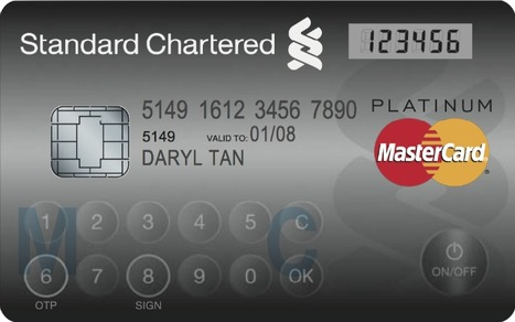 MasterCard launches'Display Card with Touch-Sensitive dialpad and LCD screen | Payments 2.0 | Scoop.it