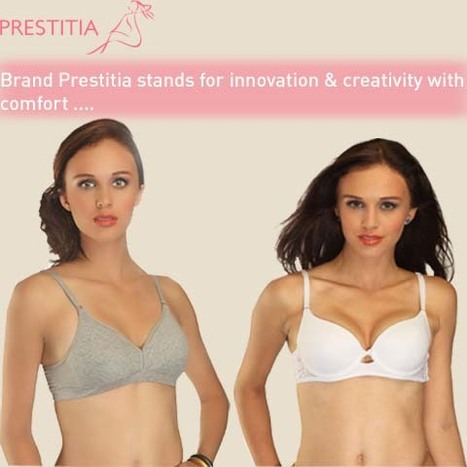 Prestitia - Online Bra Shopping | Shopping Online in india padded Bra and panty | Scoop.it