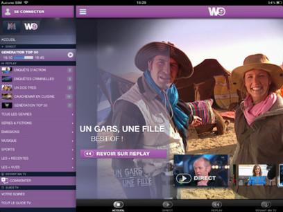 M6 et W9, la télé connectée arrive sur iPad | TV Conectada | Scoop.it