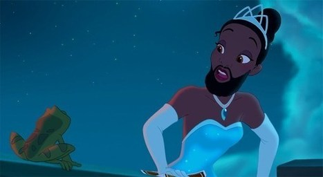 "Disney Princesses Celebrate ""No Shave November""! 