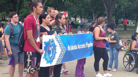 Native Americans bring oil pipeline fight to Washington | Native view | Scoop.it