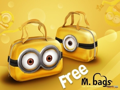 M Bags Yellow by MUSCHI | Teleport Hub - Second Life Freebies | Second Life Freebies | Scoop.it