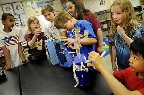 Eagan's Glacier Hills Elementary School's new tech tools mix art, science | Learning for Tomorrow | Scoop.it