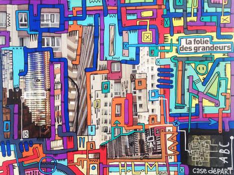 Utopies urbaines à St Ouen - 1ère partie - ArtAndFarts.over-blog.com | The art of Tarek | Scoop.it