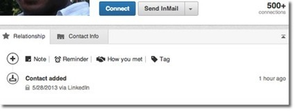 Linkedin now lets you tag, add notes, reminders and how you met feature   LinkedIn Groups for WordPress   Scoop.it