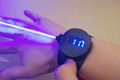 La montre laser de James Bond est enfin une réalité ! | Technologies innovantes | Scoop.it