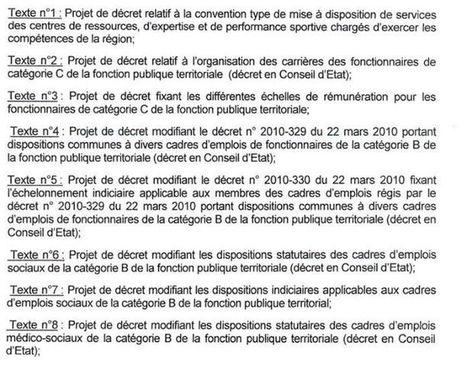 Catégories C, projet de décret catégories B, échelles de rémunération... au menu du CSFPT du 3 février | Preparation concours assistant | Scoop.it