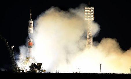Lancement d'un vaisseau spatial Soyouz avec trois astronautes direction l'ISS   Thierry's TechNews   Scoop.it