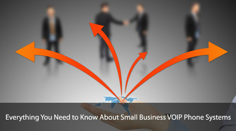 Everything You Need to Know About Small Business VOIP Phone Systems | TCS Canada | Business Telephone Systems | Scoop.it