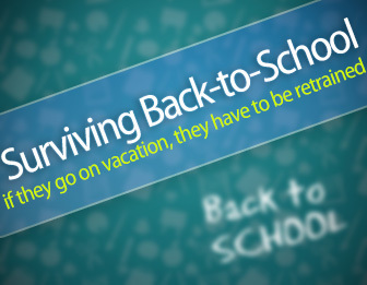 If They Go on Vacation, They Have to Be Retrained: Surviving Back-to-School | Reflections on Learning | Scoop.it