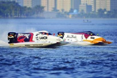 Al Qamzi delivers as promised to win Sharjah Grand Prix | Boat Racing | Scoop.it
