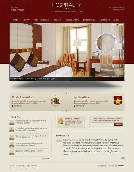 Tema Hospitality per il Sito del Tuo Bed and Breakfast | Strumenti di Web Marketing per B&B | Scoop.it