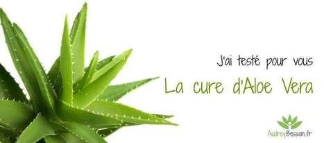 J'ai testé pour vous: La cure d'Aloe Vera | Point zen | Scoop.it