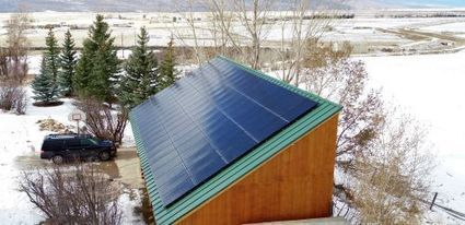 Snow, rain, clouds: what diminished sunlight means for solar panels | KSL.com | Solar Energy projects & Energy Efficiency | Scoop.it