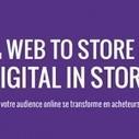 Livre blanc : Du Web to Store au Digital in Store : quand votre audience online se transforme en acheteurs offline | web, e-commerce, m-commerce | Scoop.it