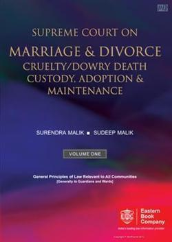 Supreme Court on Marriage & Divorce, Cruelty/Dowry Death, Custody, Adoption & Maintenance (In 2 Volumes) | Accounting Books - Law, Lega and Taxation Books | Scoop.it